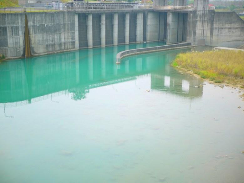 桶頭攔河堰一隅   青綠色的自然溪水   美不勝收   日本味   Takeyama   Zhushan   Nantou   RoundtripJp