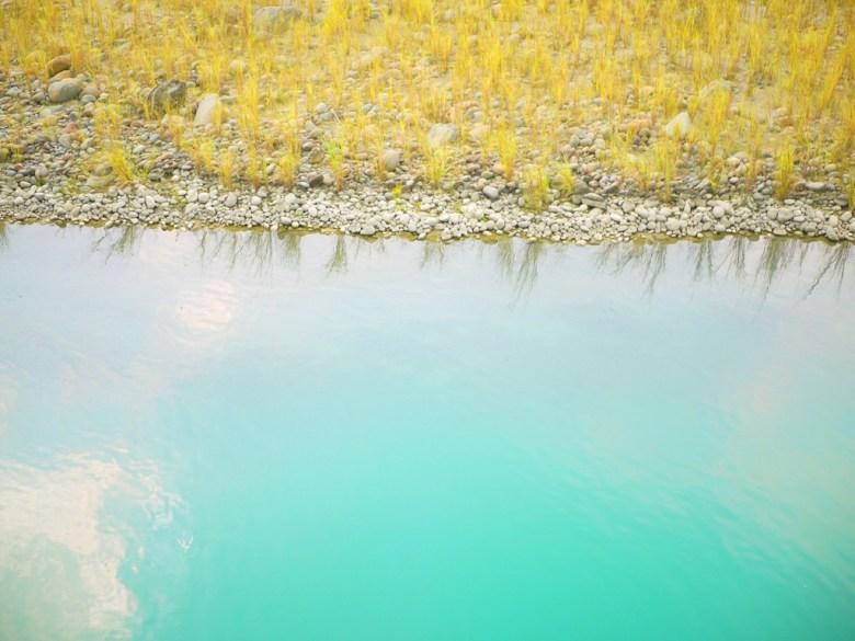 青綠色的溪水   彷彿靜岡寸又的夢の吊橋青い溪流   夢幻的青色色彩   日本味   Takeyama   Zhushan   Nantou   RoundtripJp