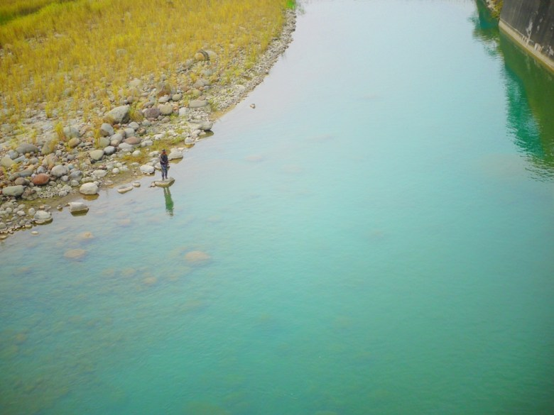 青綠色的溪水   清水溪   青い溪流   台灣旅人   Takeyama   Zhushan   Nantou   RoundtripJp