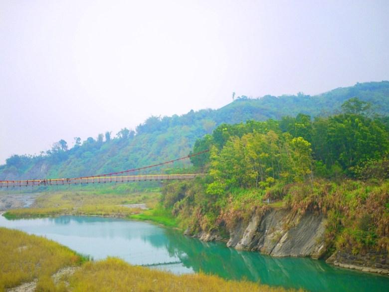 桶頭吊橋另一端   露營區   被萬千林木包圍   自然舒爽   台灣旅人   Takeyama   Zhushan   Nantou   RoundtripJp