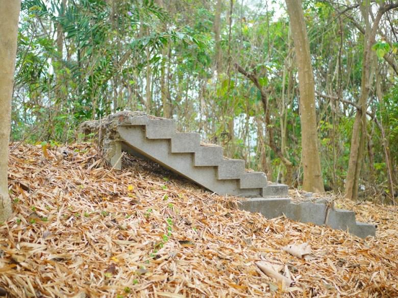 通往神社本殿階梯的遺跡 | 新化神社遺跡 | 虎頭埤風景區內 | 新化 | 台南 | 巡日旅行攝