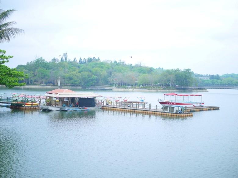 第一碼頭 | 搭遊覽船遊湖 | 虎頭埤風景區內 | 新化 | 台南 | 巡日旅行攝