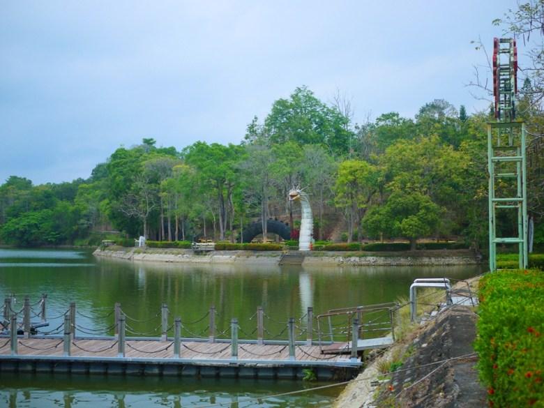 虎頭埤第二碼頭 | 清新自然的翠綠色湖面 | 虎頭埤風景區內 | 新化 | 台南 | RoundtripJp