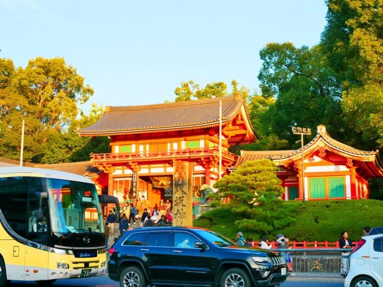 日本巴士 | 京都 | 八坂神社 | 日本人 | 台灣旅人 | 國外旅人 | 巡日旅行攝