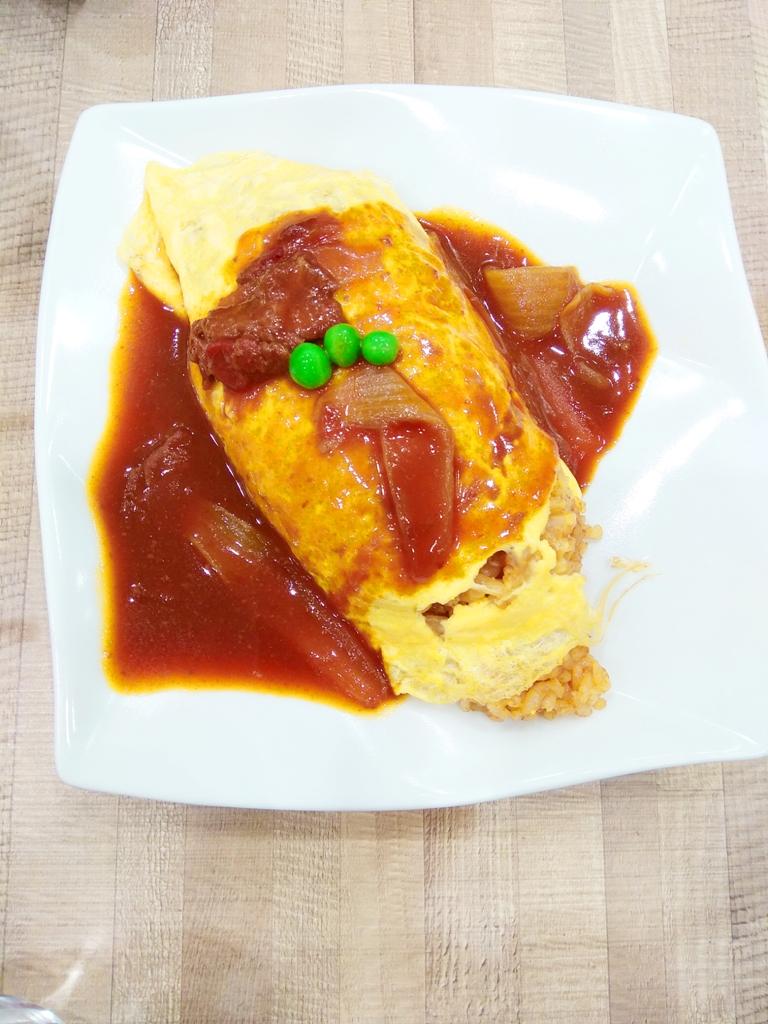 蛋包飯 | Omurice | オムライス | 日式洋食 | 起源於日本 | 巡日旅行攝 | RoundtripJp