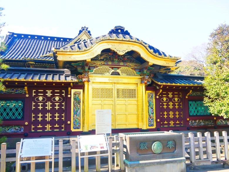 東照宮   金碧輝煌華麗裝飾   日本文化財產   上野   東京   日本   Japan   巡日旅行攝