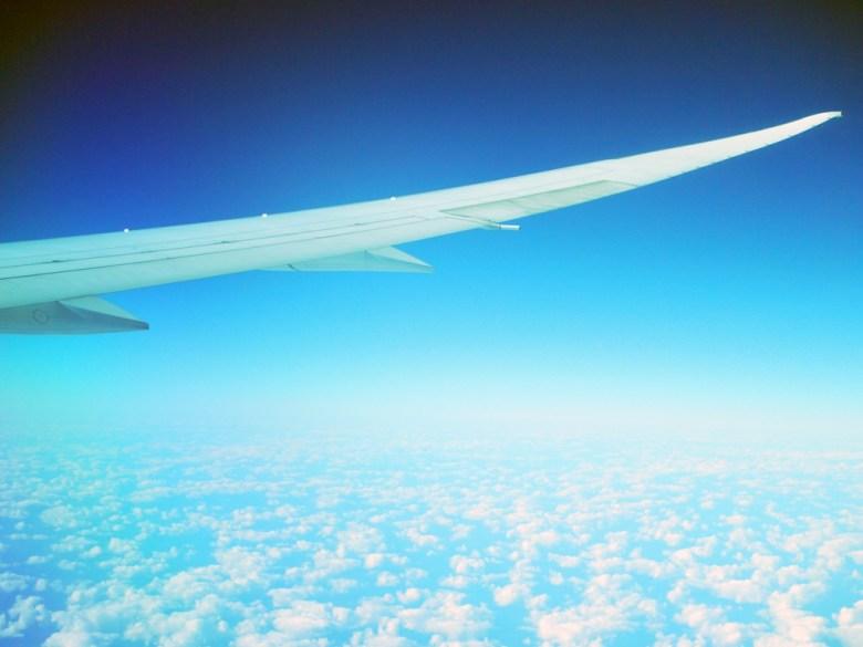 飛機   天際線   天空   雲端之上   日本   Japan   巡日旅行攝   RoundtripJp