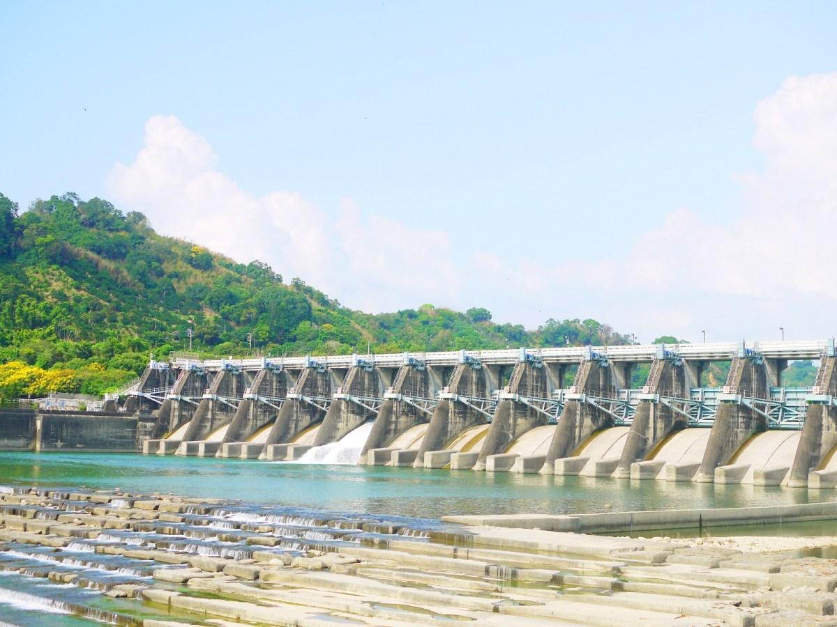 石岡水壩建築之美 | 感受水流的聲音 | シーガン | タイジョン | Shigang | Taichung | Wafu Taiwan | 巡日旅行攝 | RoundtripJp
