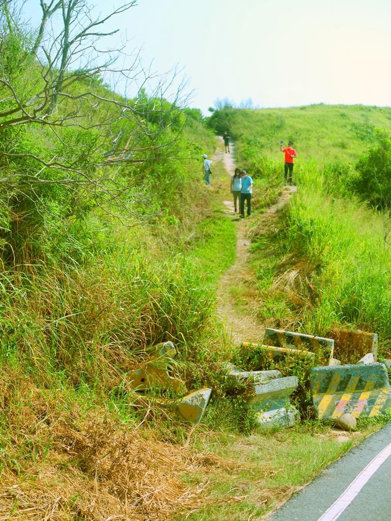 棄置的水泥製成的護欄後方小徑 | 台灣旅人 | 慕名而來 | 心形公路 | トンシャオ | ミアオリー | | ミアオリー | Wafu Taiwan | 巡日旅行攝 | RoundtripJp