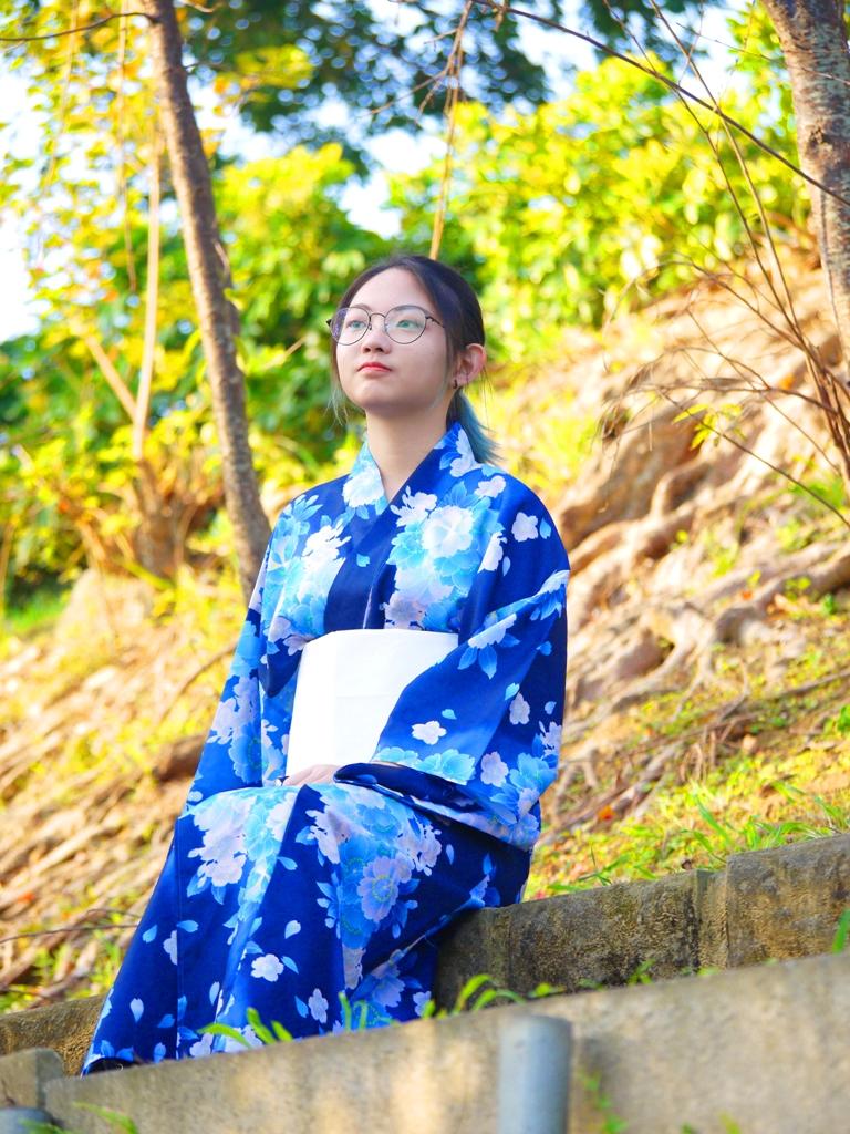 從苗栗稻荷神社遺跡好漢坡旁的健行步道眺望苗栗市之美   日本和服   日本浴衣   びょうりつし   ミアオリー   Wafu Taiwan   巡日旅行攝   RoundtripJp