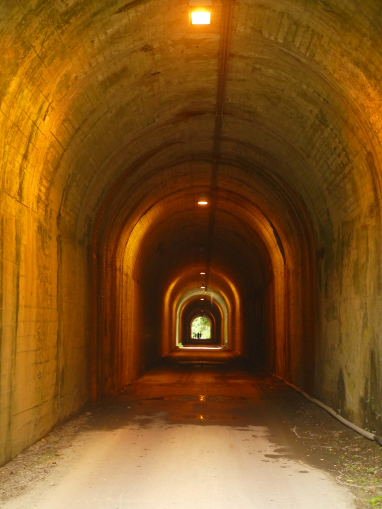 光明隧道 | 雙龍隧道 | 單向隧道 | 彷彿格列佛隧道 | 通過瞬間縮小的感覺 | 遠處的迷人台灣旅人 | 草屯 | 南投 | Caotun | Nantou | Wafu Taiwan | 巡日旅行攝 | RoundtripJp