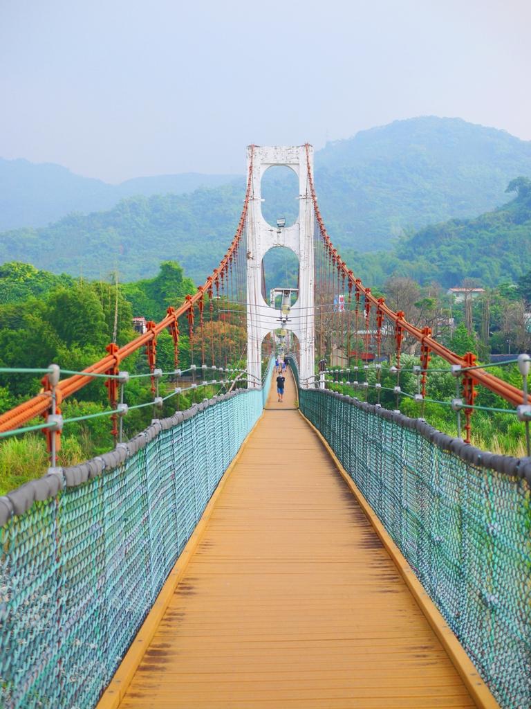 從雙十吊橋眺望雙冬方向 | 遠眺雙冬山 | 草屯 | 南投 | Caotun | Nantou | Wafu Taiwan | 巡日旅行攝 | RoundtripJp