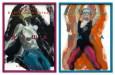"""Girls in different tights I / Dasha / November 6th, Friday"" 2015. Oil on hardboard, 30 x 40 cm"