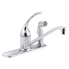 Kitchen Faucet Kohler Modern Decor Coralais K 15173 Fl Cp Single Control Sink