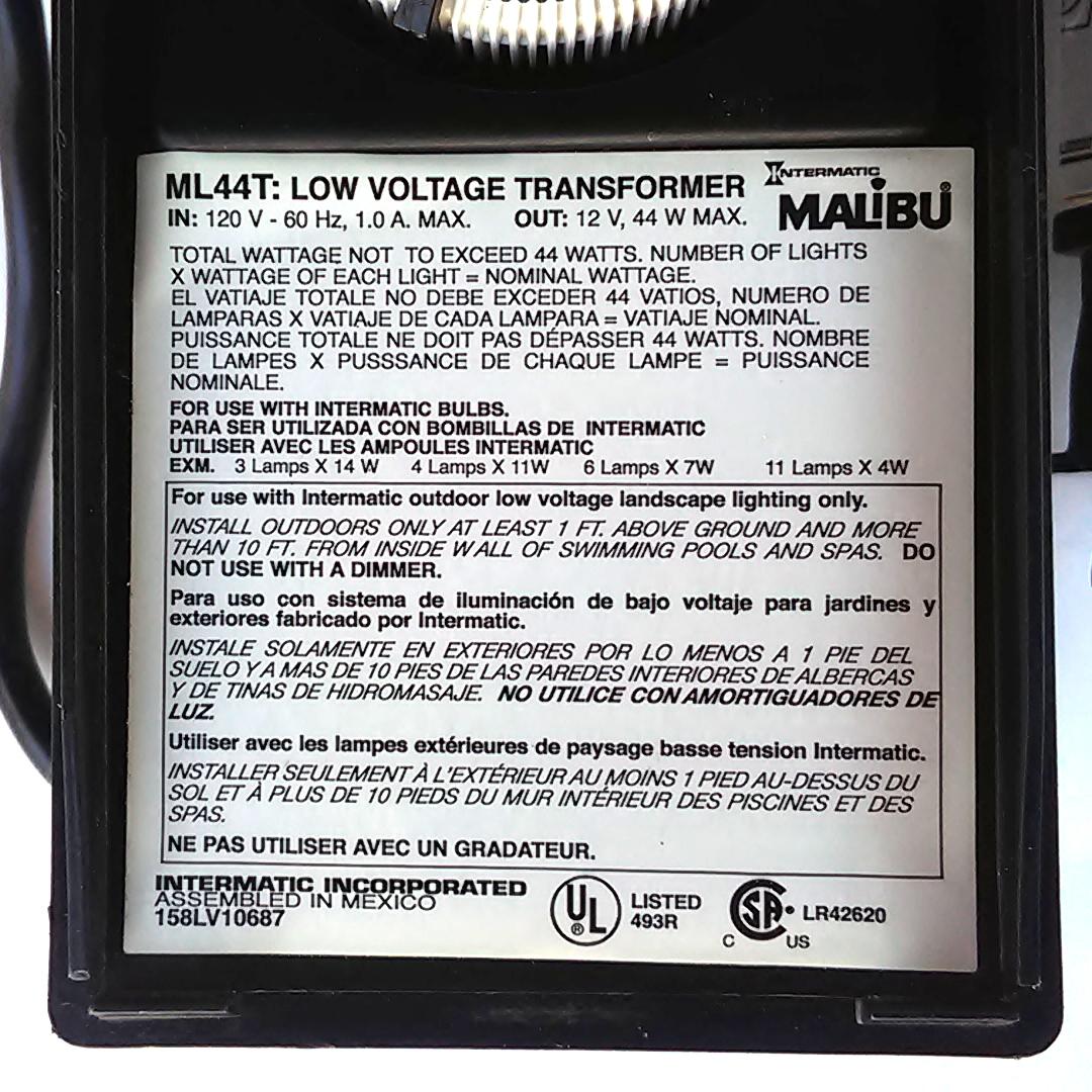 Intermatic Malibu Low Voltage Landscape Lighting