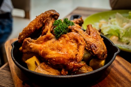 Cuisses de poulet tandoori