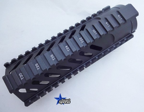 Free Floating Tactical Quad Rail Handguard Slotted Carbine Length