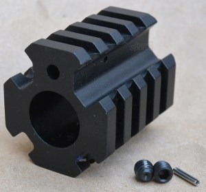 AR15 4 Rail Gas Block .750