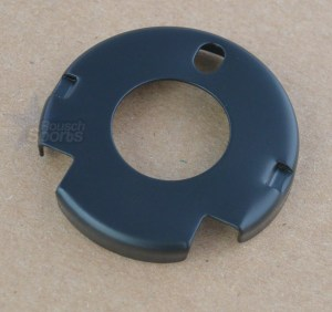 "Handguard End Cap M4 Cut Round Black .750"" Inside Diameter AR-15"