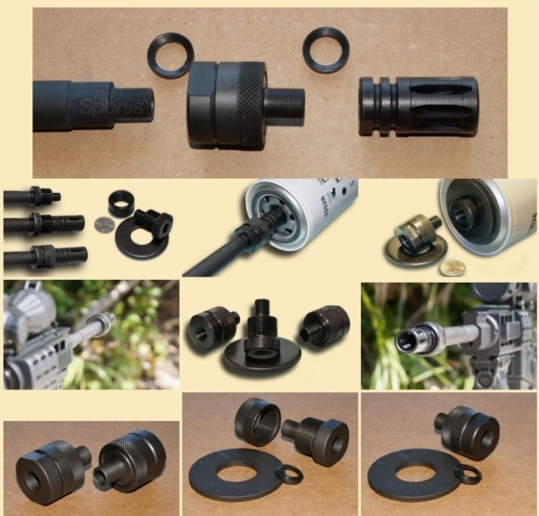 Muzzle Adapter System Thread Adapter Solvent Trap AR15 M16 M4 Austin Texas Best wholesale Discount Prices Austin Texas Rousch Sports IMACS