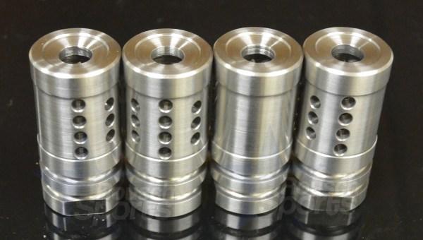 FXH C2 Shorty Stainless Steel Muzzle Brake Compensator A2 Style 6.5 Grendel M16 M4 AR15 Austin Texas Best Discount Wholesale Price AR Parts and Accessories RIfle Pistol Handgun Long Gun