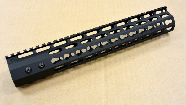 V3A Keymod Super Slim Free Float HandGuard Forend 12 Inch SLIM Line M16 M4 AR15 Austin Texas Best Discount Wholesale Price Accessories RIfle Pistol Handgun Long Gun