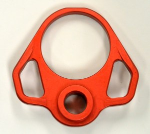 Ambi Sling QD End Plate Anodized Red Odin Works AR15 Aluminum Austin Discount AR Parts and accessories Austin Texas