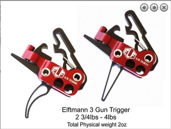ELF 3 Gun Trigger Sealed Bearings .223 5.56 308 LR308 Ar 10 AR 15 M4 M16 Best Discount Wholesale AR Parts and Accessories Austin Texas USA