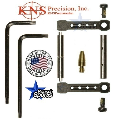 KNS Pins Anti Walk Pins Non Rotating Gen ST Spike's Side Plates Black .223 5.56 .308 AR 15 M4 M16 Best Discount Wholesale AR Parts and Accessories Austin Texas 1 .223 5.56 .308 AR 15 M4 M16 Best Discount Wholesale AR Parts and Accessories Austin Texas Stainless Steel