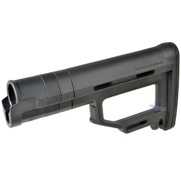 Strike Industries Modular Fixed Stock BLACK ebay amazon featureless California CA NJ Viper .223 5.56 .308 AR15 M4 M16 Best Discount Wholesale AR Parts and Accessories Austin Texas 1