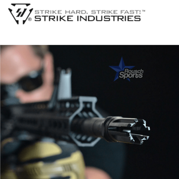 "Strike Industries Venom Flash Hider .223/5.56 1/2x28 1/2""-28 .223 5.56 AR 15 M4 M16 Best Discount Wholesale AR Parts and Accessories Austin Texas"