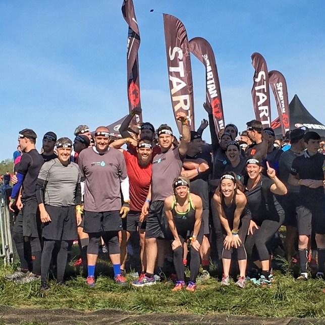 Carolina Sweat Team - before the mud