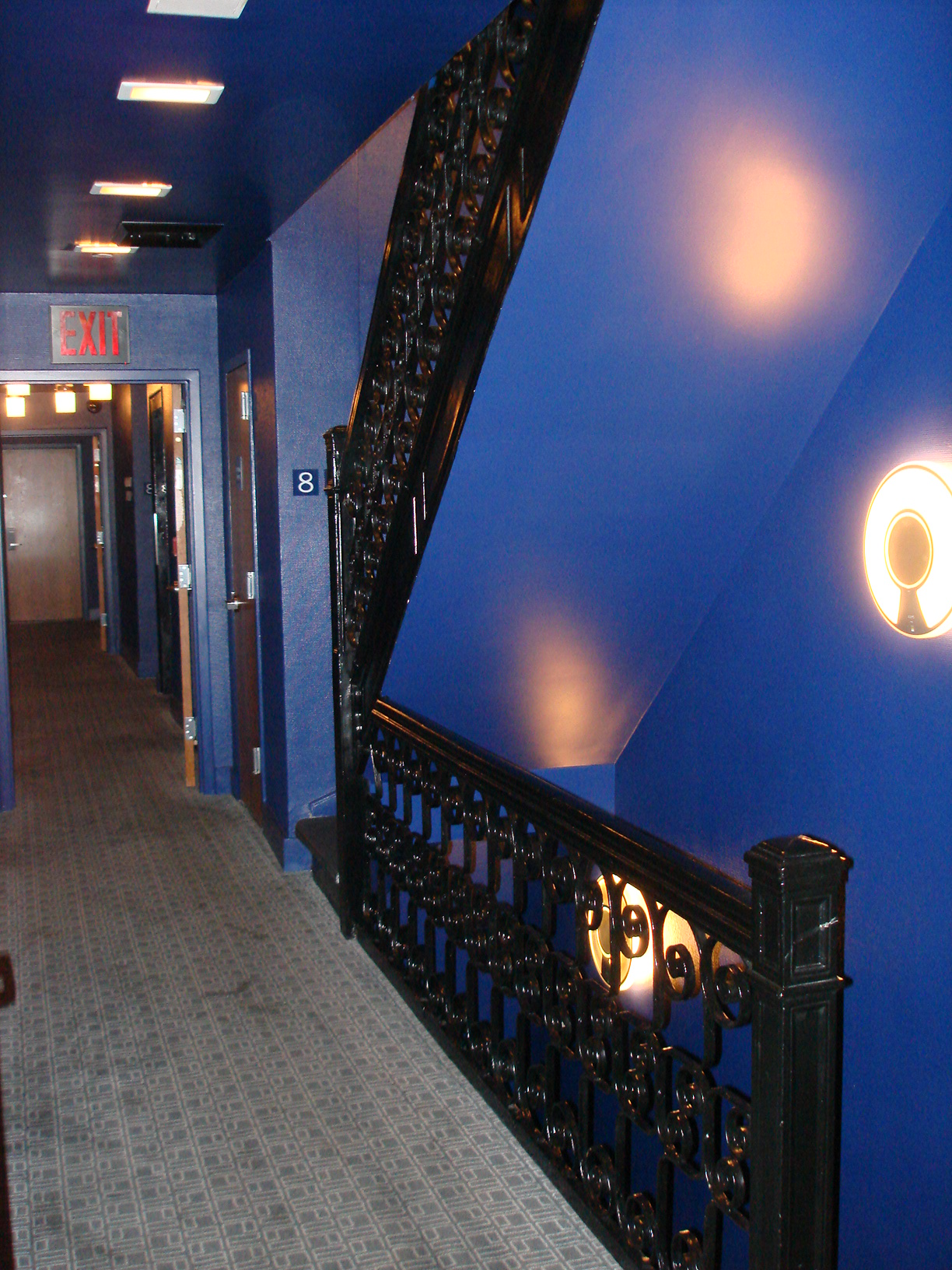 Trademark Thompson dark hallways