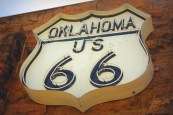 The Route 66 Interpretive Center. Chandler, OK