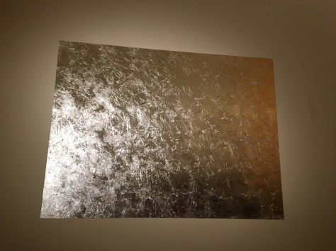 Art work silver leaf