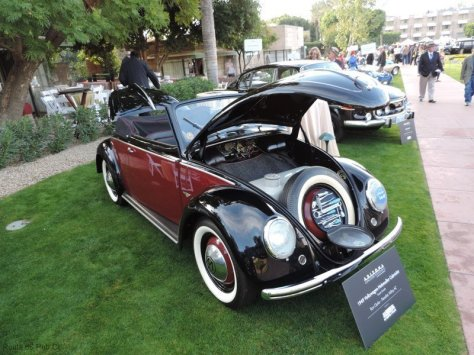 Arizona Concours D'Elegance Award Winners VW Front