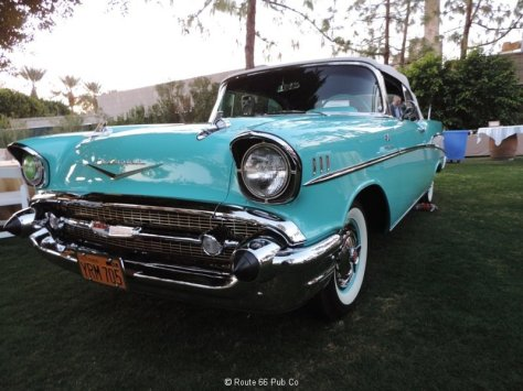 1957 Chevy Front View