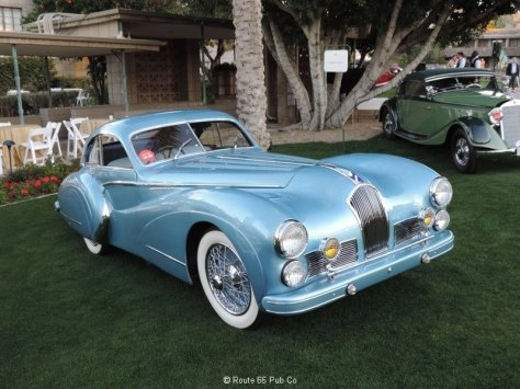 1948 Talbot-Lago on the Lawn