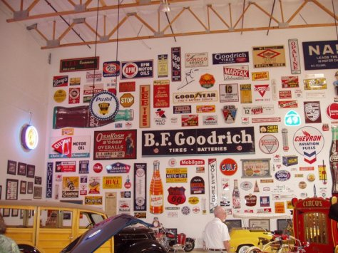 Automobilia Sign Collection from Ron Pratte