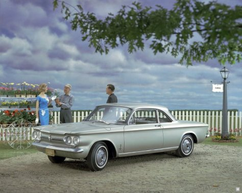 1962 Chevrolet Corvair Monza Club Turbo