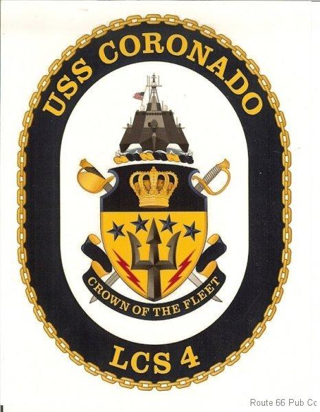 Crest for USS Coronado
