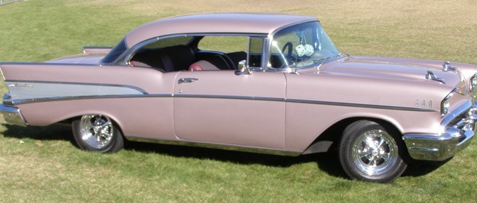 1957 Chevrolet's sold from Lambrecht Chevrolet