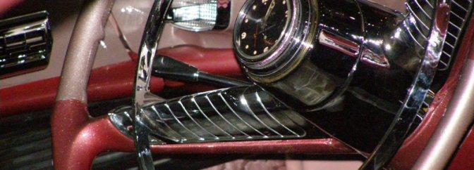 56 Desoto steering wheel