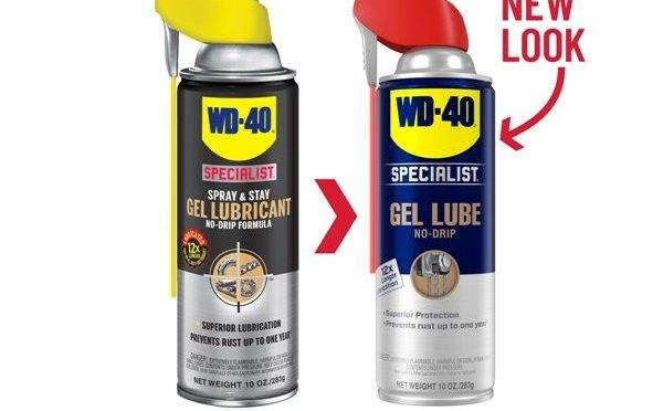 WD-40 Specialist Goes Blue and Yellow