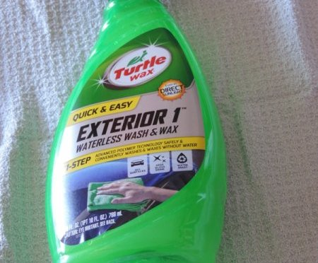 Turtle Wax Exterior 1 Waterless Wash Wins