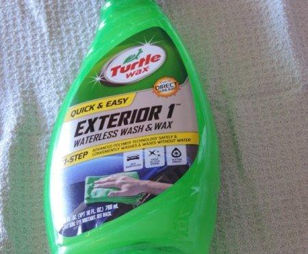 Turtle Wax Exterior 1 Waterless Wash Wins