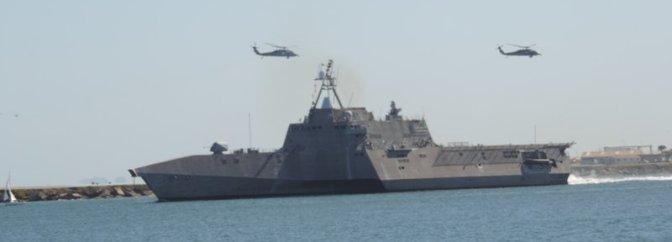 USS Coronado Commissioning