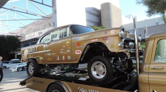 55 Chevy Shoebox Drag Racer Restored