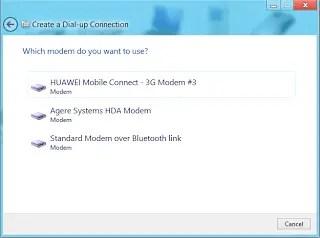 select modem