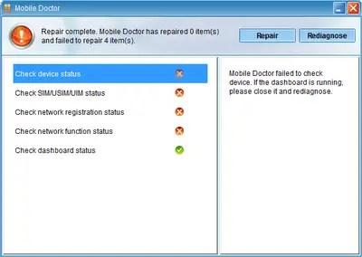 Huawei Datacard Repair Tool